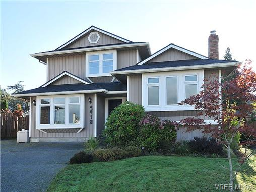 Main Photo: 4413 Bartholomew Place in VICTORIA: SE Gordon Head Single Family Detached for sale (Saanich East)  : MLS® # 329247