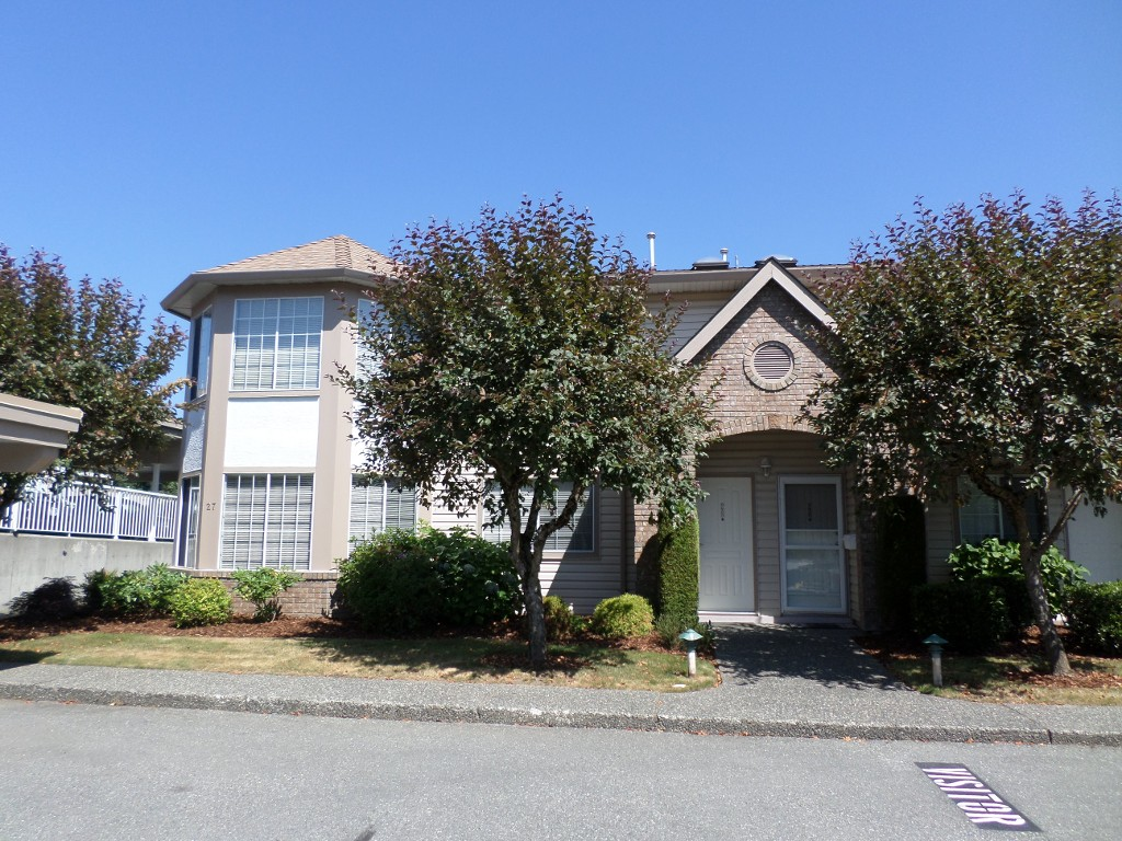 Main Photo: 28 3110 Trafalgar in Abbotsford: Central Abbotsford Townhouse for sale : MLS® # R2191985