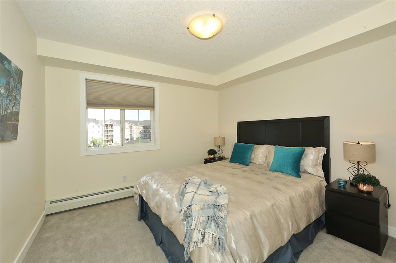 The large bedroom will accommodate a good size master bedroom set.