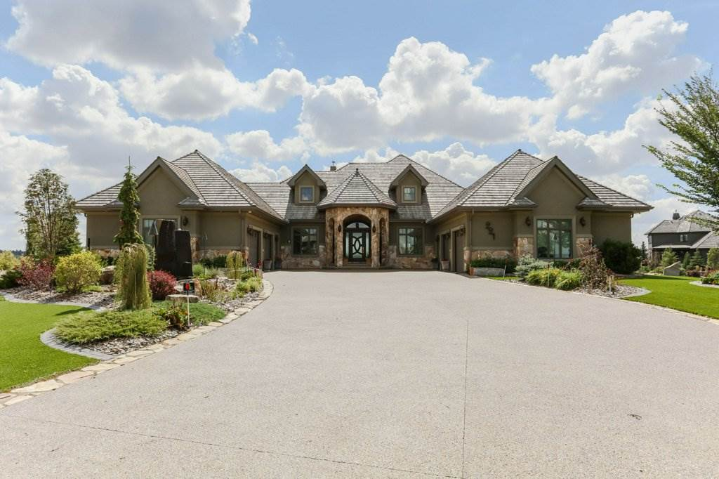 Main Photo: 221 River Heights Cove: Rural Sturgeon County House for sale : MLS®# E4079417