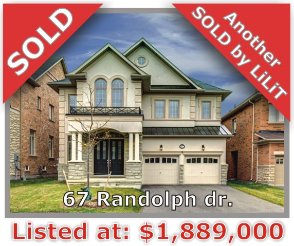 Main Photo: 67 Randolph Dr in Vaughan: Patterson Freehold for sale