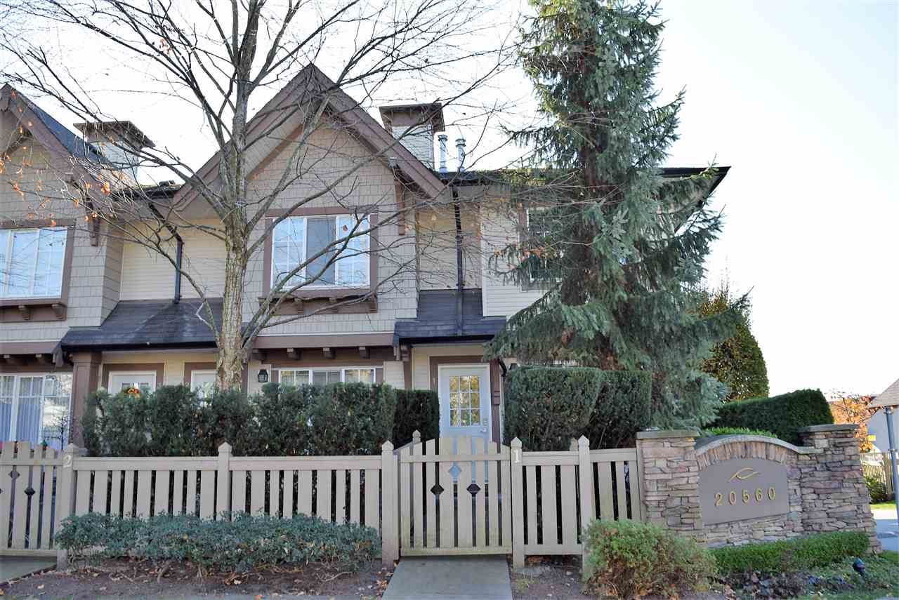 "Photo 2: Photos: 1 20560 66 Avenue in Langley: Willoughby Heights Townhouse for sale in ""Amberleigh 2"" : MLS® # R2219692"