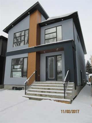 Main Photo:  in Edmonton: Zone 17 House for sale : MLS® # E4087983