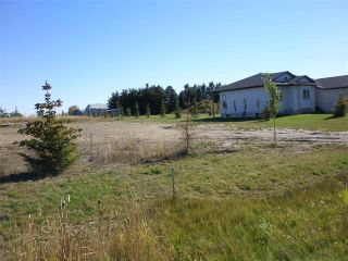 Main Photo: 1 Evergreen Close: Wetaskiwin Vacant Lot for sale : MLS®# E4095415