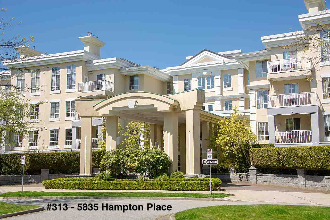 "Main Photo: 313 5835 HAMPTON Place in Vancouver: University VW Condo for sale in ""ST. JAMES HOUSE"" (Vancouver West)  : MLS®# R2265887"