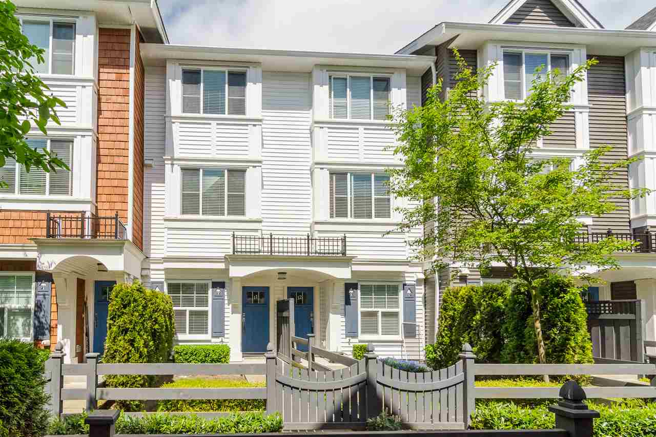 "Main Photo: 11 14905 60 Avenue in Surrey: Sullivan Station Townhouse for sale in ""The Grove at Cambridge"" : MLS®# R2268357"