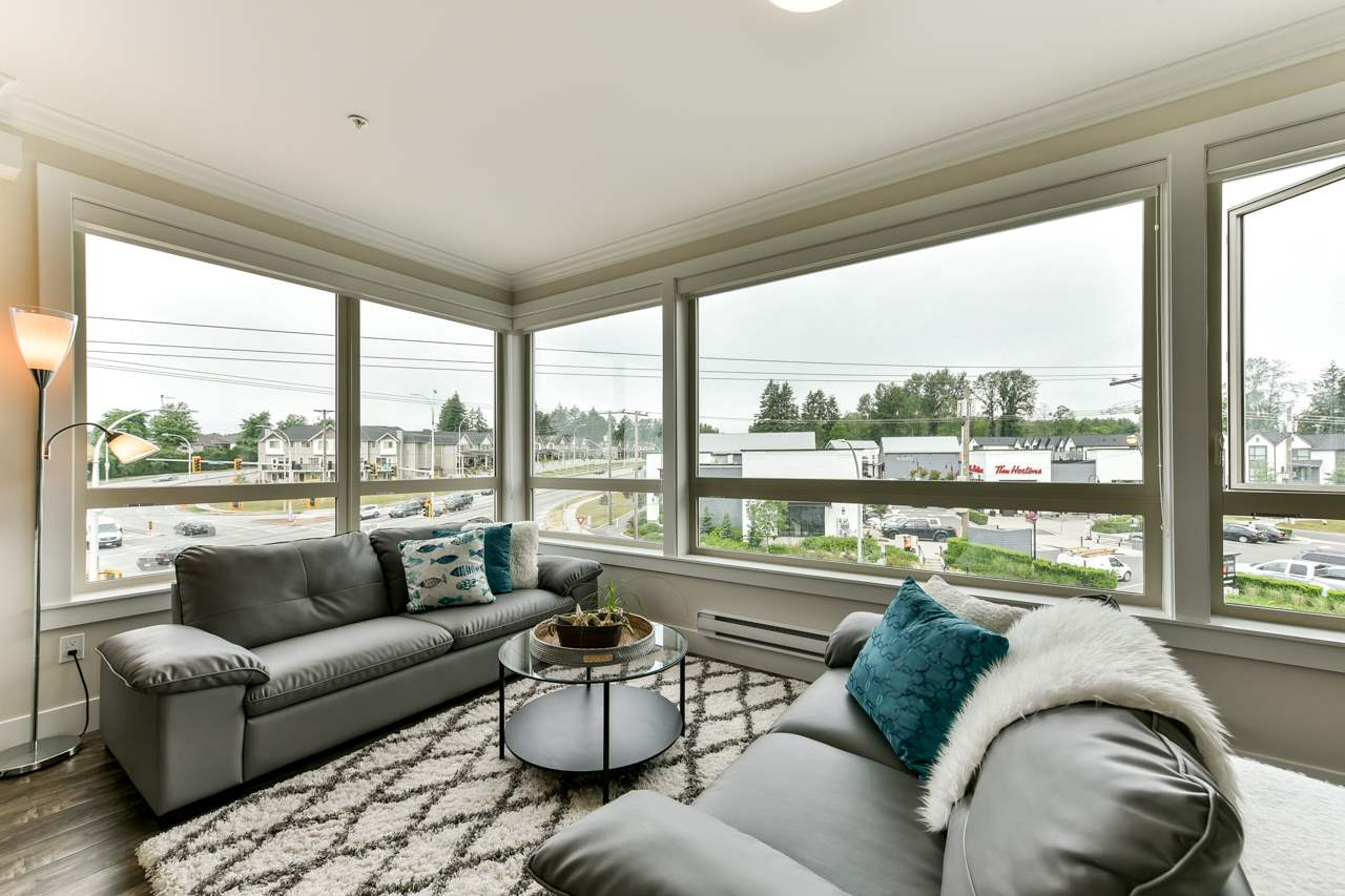 "Main Photo: 411 19228 64 Avenue in Surrey: Clayton Condo for sale in ""FOCAL POINT"" (Cloverdale)  : MLS®# R2279932"