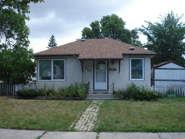Main Photo: 443 RUTLAND Avenue in WINNIPEG: St James Residential for sale (West Winnipeg)  : MLS® # 1116802