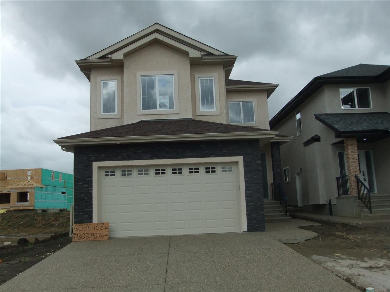 Main Photo: 6036 168 Avenue in Edmonton: Zone 03 House for sale : MLS(r) # E4026032