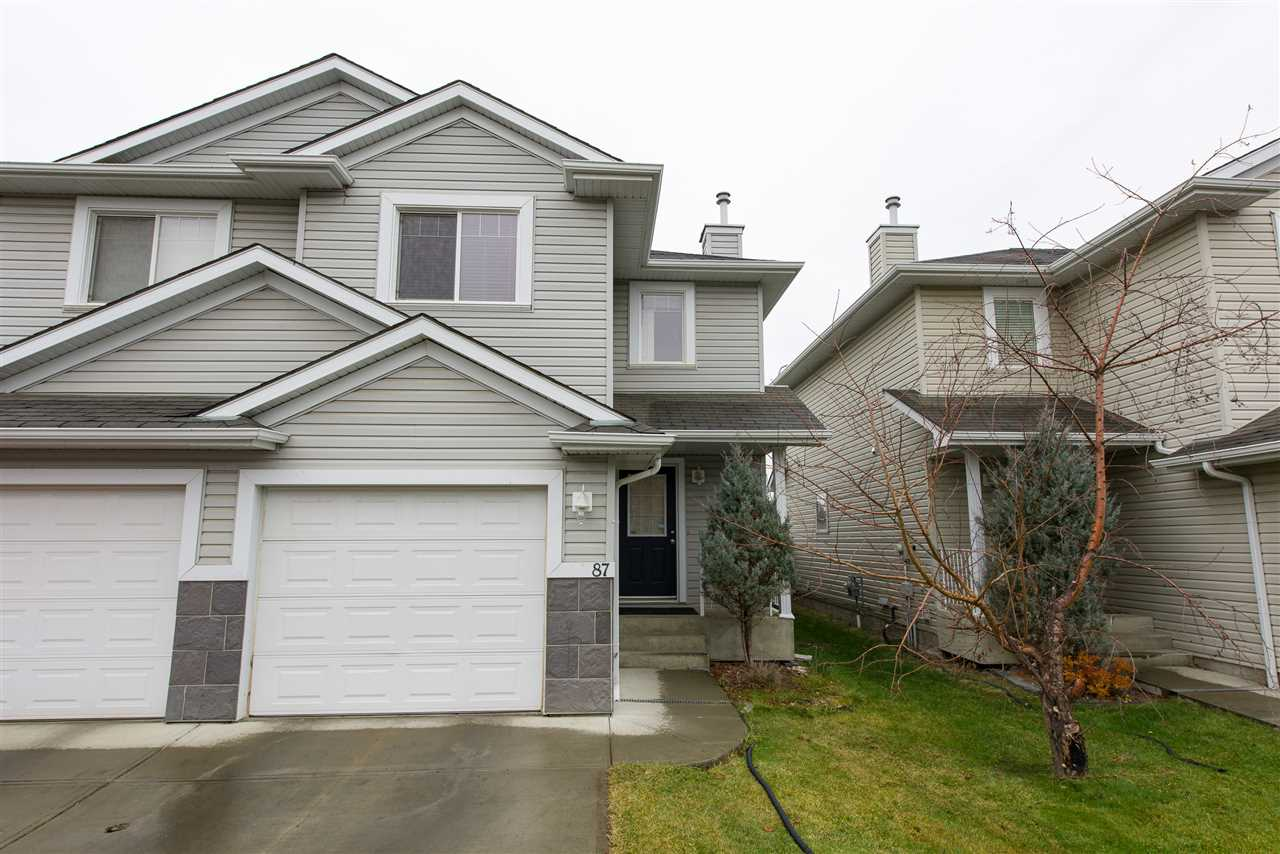 Main Photo: 87 287 MACEWAN Road in Edmonton: Zone 55 House Half Duplex for sale : MLS(r) # E4043105
