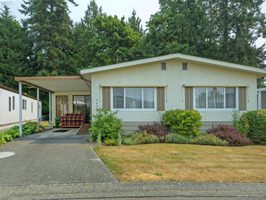 Main Photo: 9423 Brookwood Drive in SIDNEY: Si Sidney South-West Manu Double-Wide for sale (Sidney)  : MLS® # 381840