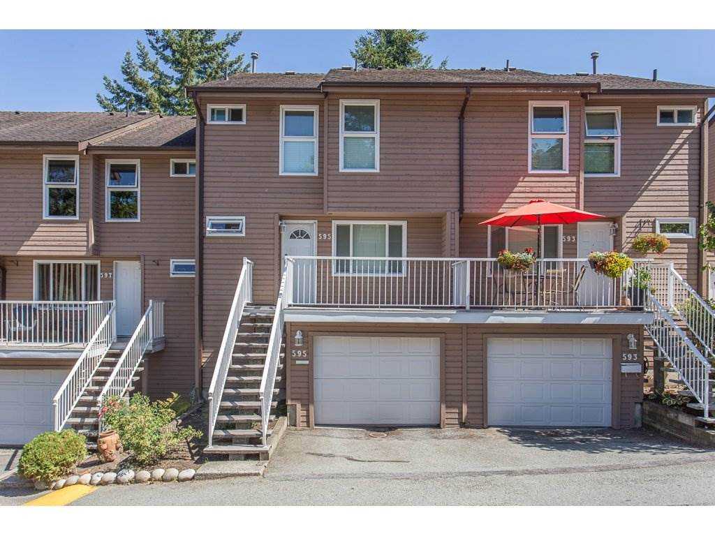 "Main Photo: 595 CARLSEN Place in Port Moody: North Shore Pt Moody Townhouse for sale in ""EAGLE POINT"" : MLS® # R2199222"