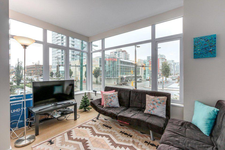 "Main Photo: 207 111 E 1ST Avenue in Vancouver: Mount Pleasant VE Condo for sale in ""BLOCK 100"" (Vancouver East)  : MLS®# R2211687"