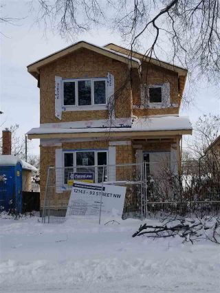 Main Photo: 12143 93 Street NW in Edmonton: Zone 05 House for sale : MLS® # E4094967