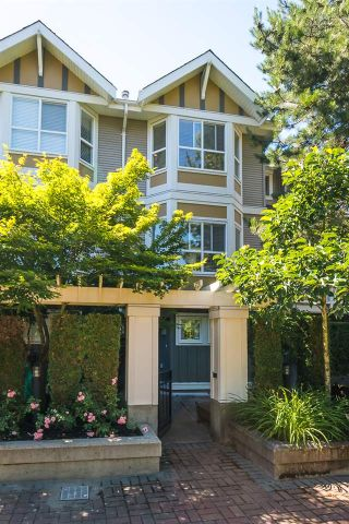 "Main Photo: 35 7833 HEATHER Street in Richmond: McLennan North Townhouse for sale in ""BELMONT GARDEN"" : MLS®# R2284582"