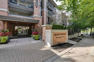 "Main Photo: 322 700 KLAHANIE Drive in Port Moody: Port Moody Centre Condo for sale in ""BOARDWALK @ KLAHANIE"" : MLS®# R2309869"
