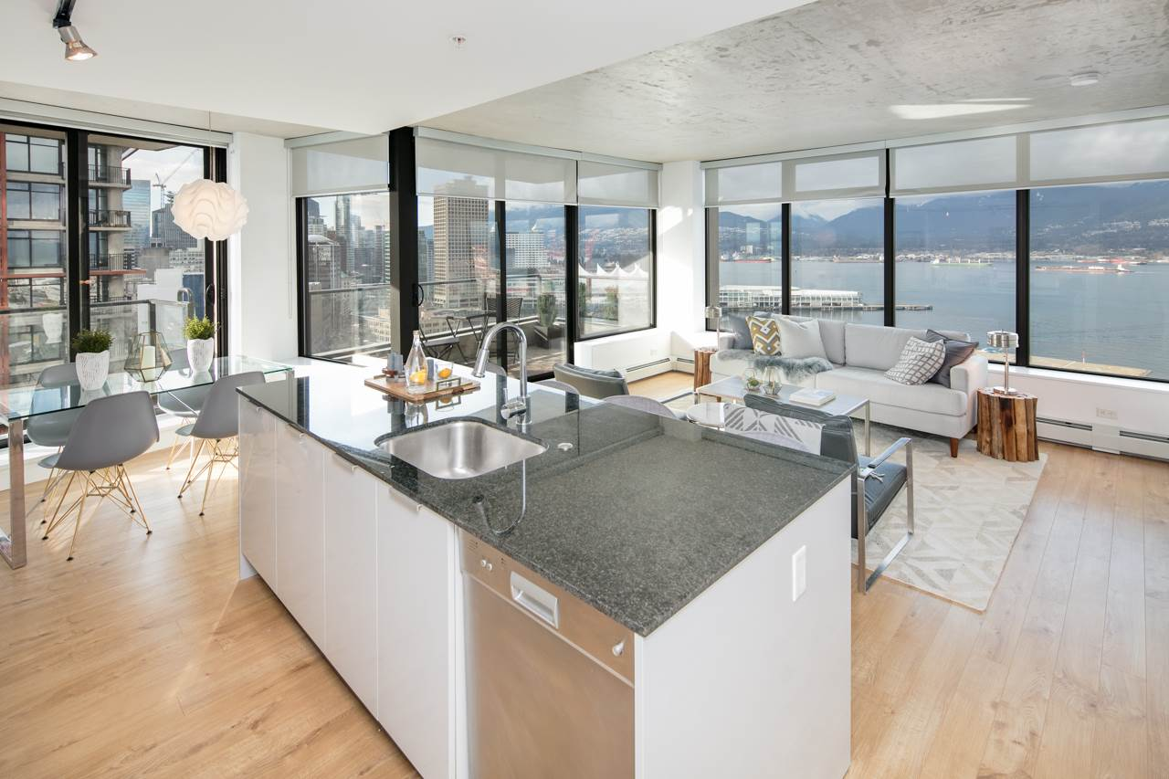 "Main Photo: 2309 108 W CORDOVA Street in Vancouver: Downtown VW Condo for sale in ""WOODWARDS W32"" (Vancouver West)  : MLS® # R2146313"