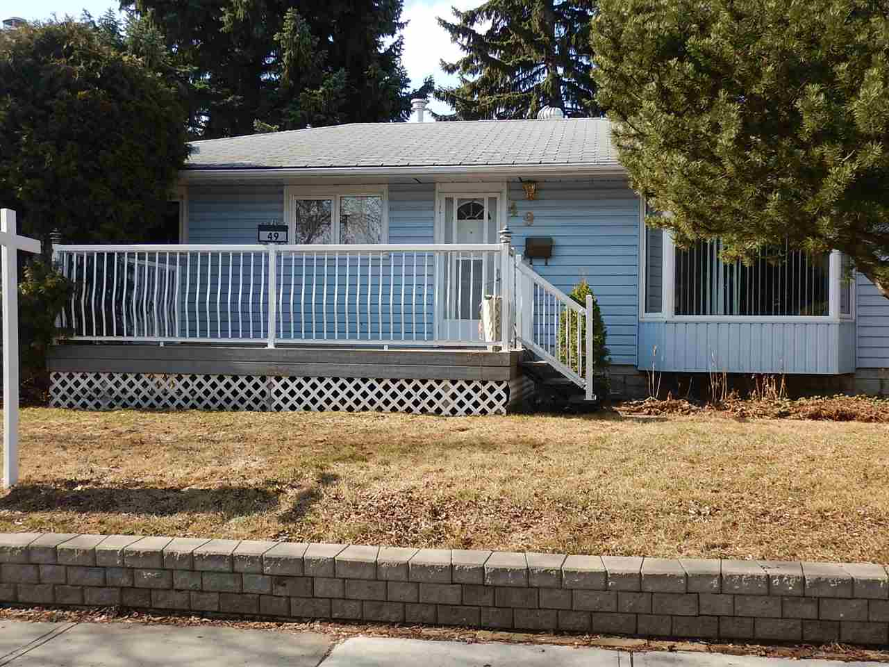 Main Photo: 49 Salisbury Ave Avenue: St. Albert House for sale : MLS(r) # E4055063