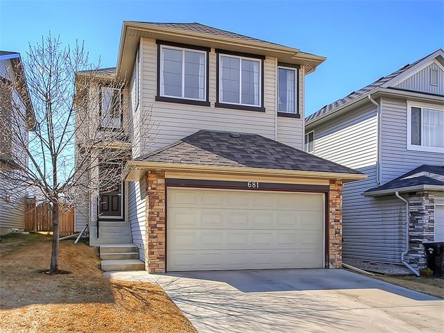 Main Photo: 681 CRANSTON Drive SE in Calgary: Cranston House for sale : MLS® # C4110392