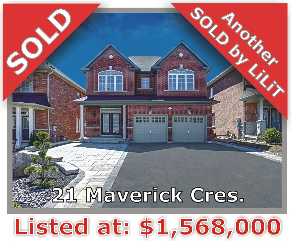 Main Photo: 21 Maverick Crescent in Vaughan: Patterson Freehold for sale