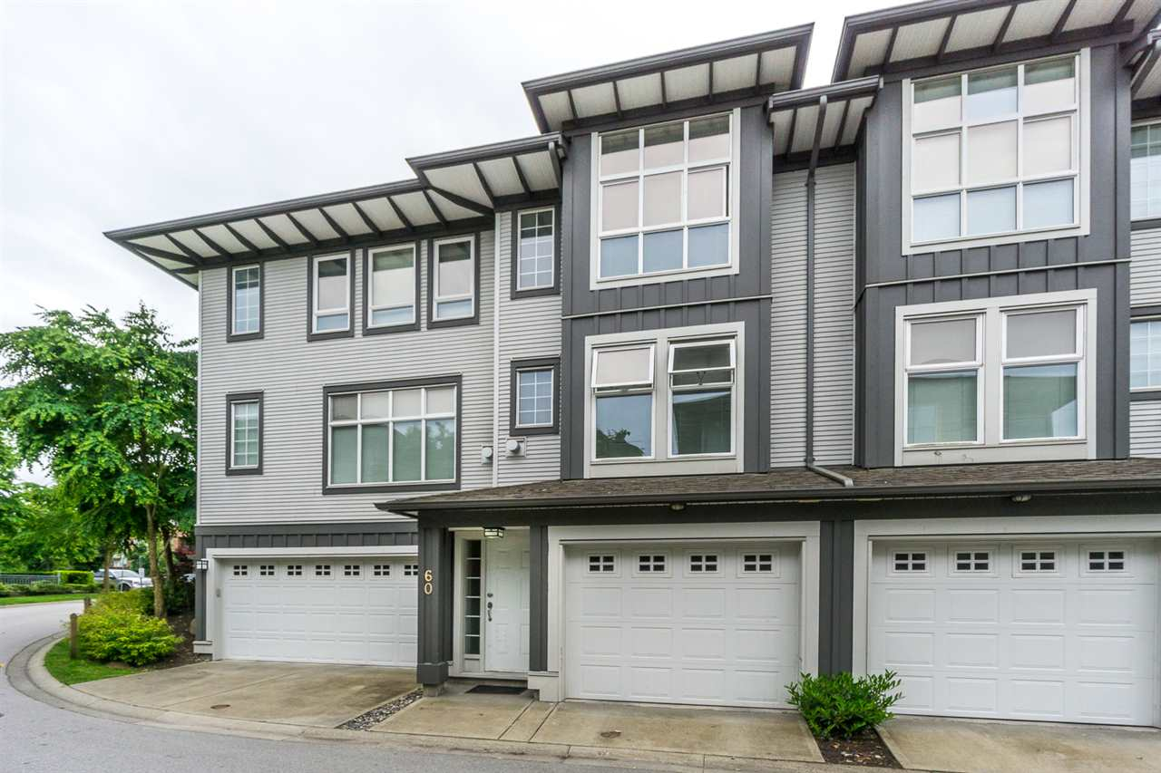 "Main Photo: 60 18777 68A Avenue in Surrey: Clayton Townhouse for sale in ""COMPASS"" (Cloverdale)  : MLS(r) # R2173614"