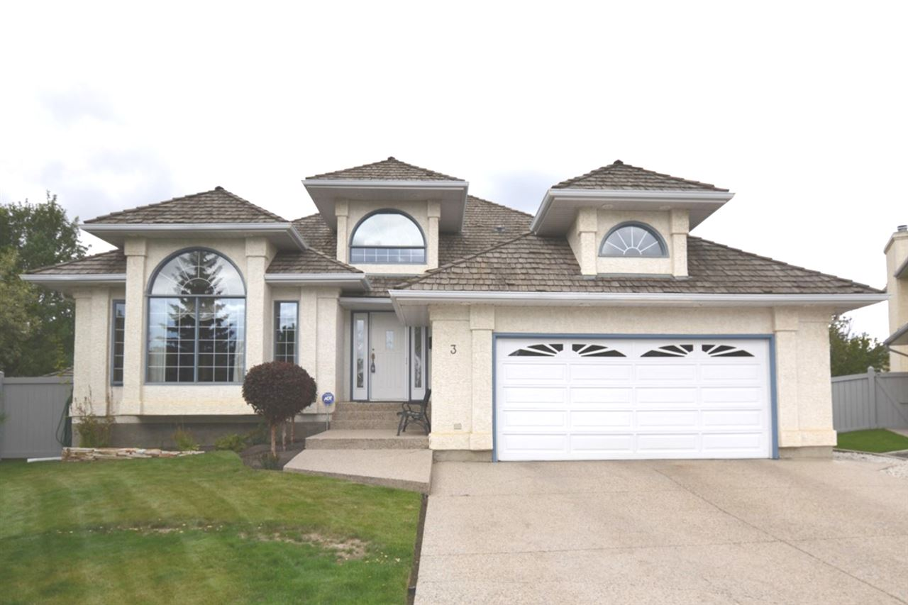 Main Photo: 3 LEE Place: St. Albert House for sale : MLS® # E4069832