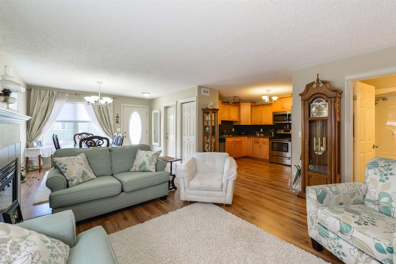 Photo 4: 25 WILLOW WOOD Court: Stony Plain House Half Duplex for sale : MLS® # E4077233