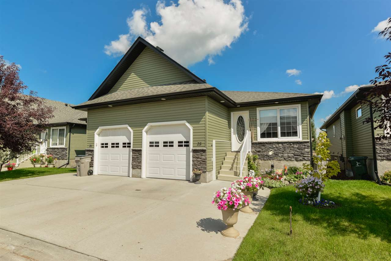 Main Photo: 25 WILLOW WOOD Court: Stony Plain House Half Duplex for sale : MLS® # E4077233