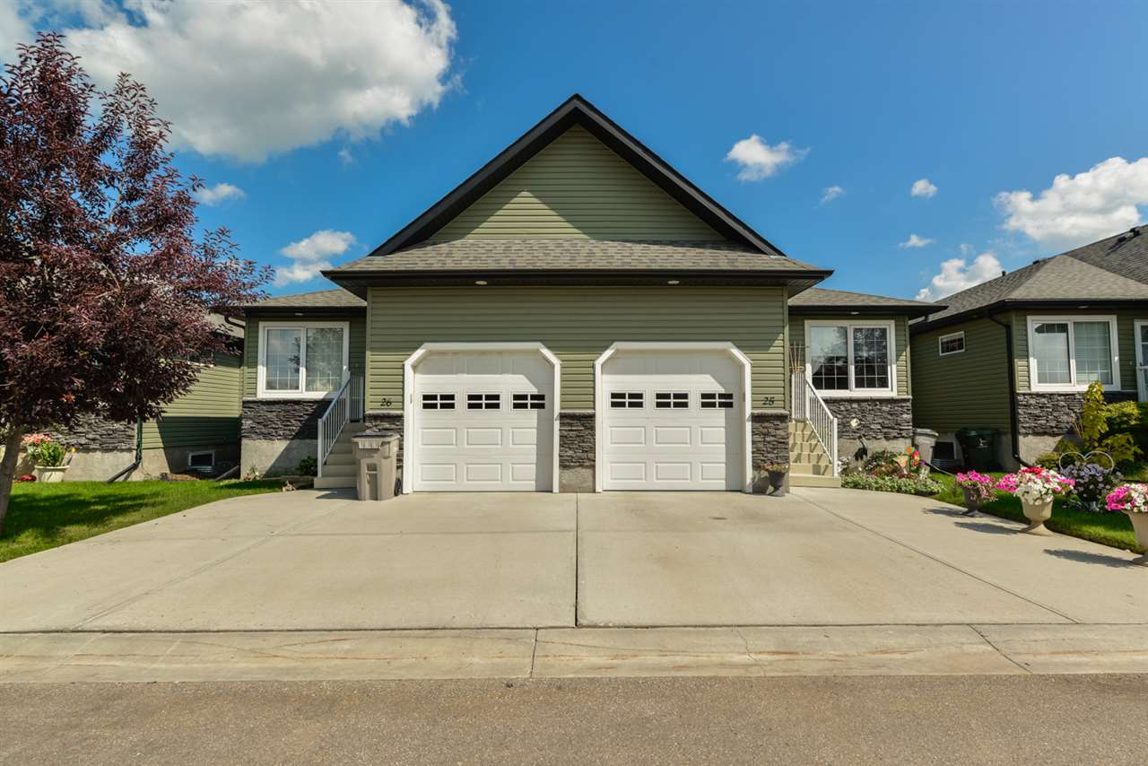 Photo 30: 25 WILLOW WOOD Court: Stony Plain House Half Duplex for sale : MLS® # E4077233