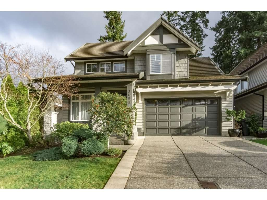 "Main Photo: 3658 154 Street in Surrey: Morgan Creek House for sale in ""Rosemary Heights"" (South Surrey White Rock)  : MLS® # R2226303"