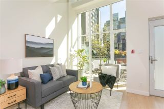 "Main Photo: 129 E 1ST Avenue in Vancouver: Mount Pleasant VE Townhouse for sale in ""BLOCK 100"" (Vancouver East)  : MLS®# R2260360"