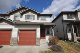 Main Photo: 23 2816 34 Avenue in Edmonton: Zone 30 Townhouse for sale : MLS®# E4118946