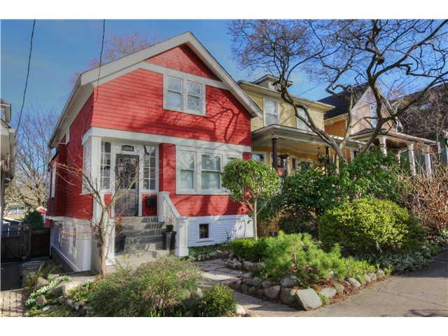 "Main Photo: 1853 E 6TH Avenue in Vancouver: Grandview VE House for sale in ""COMMERCIAL DRIVE"" (Vancouver East)  : MLS® # V1048998"