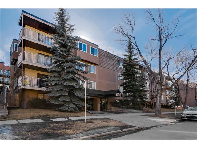 Main Photo: 835 19 AV SW in Calgary: Lower Mount Royal Condo for sale : MLS®# C4034765