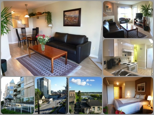 "Main Photo: 412 509 CARNARVON Street in New Westminster: Downtown NW Condo for sale in ""HILLSIDE PLACE"" : MLS®# R2021635"