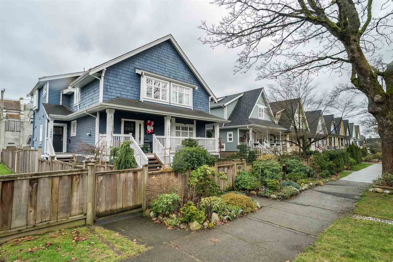 Main Photo: 1888 E 8TH Avenue in Vancouver: Grandview VE Townhouse for sale (Vancouver East)  : MLS® # R2033824