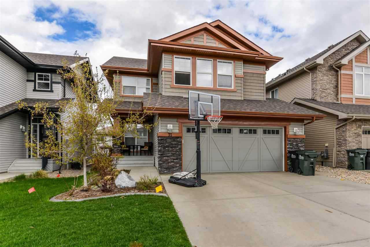 Main Photo: 35 CODETTE Way: Sherwood Park House for sale : MLS® # E4065139