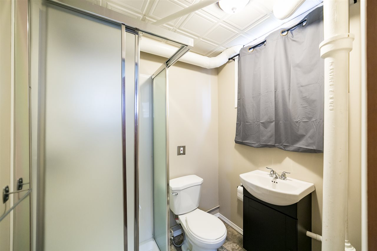 The 3 piece bathroom was renovated in 2013.