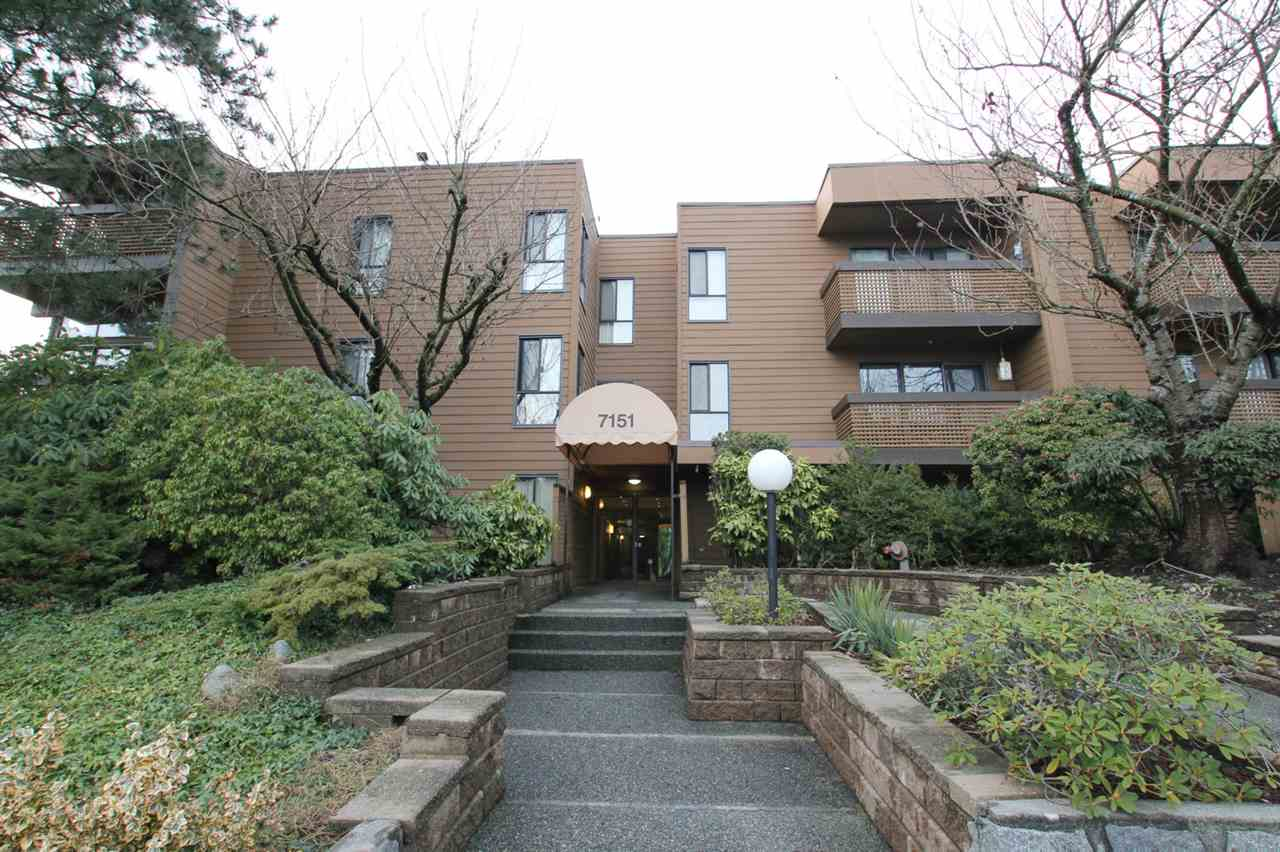 Main Photo: 322 7151 EDMONDS Street in Burnaby: Highgate Condo for sale (Burnaby South)  : MLS®# R2241490