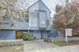 Main Photo: 1814 MACDONALD Street in Vancouver: Kitsilano Townhouse for sale (Vancouver West)  : MLS®# R2260114