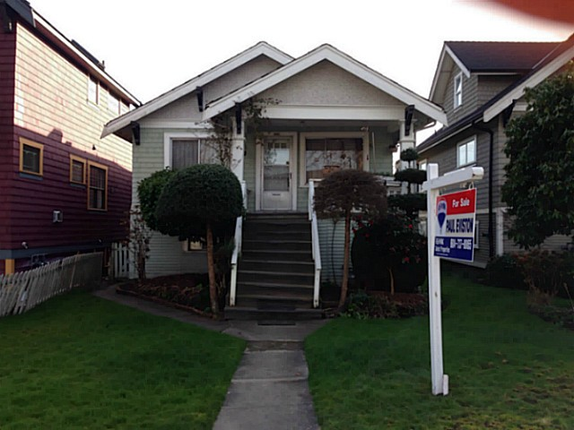 Main Photo: 850 W 18TH Avenue in Vancouver: Cambie House for sale (Vancouver West)  : MLS® # V1109339