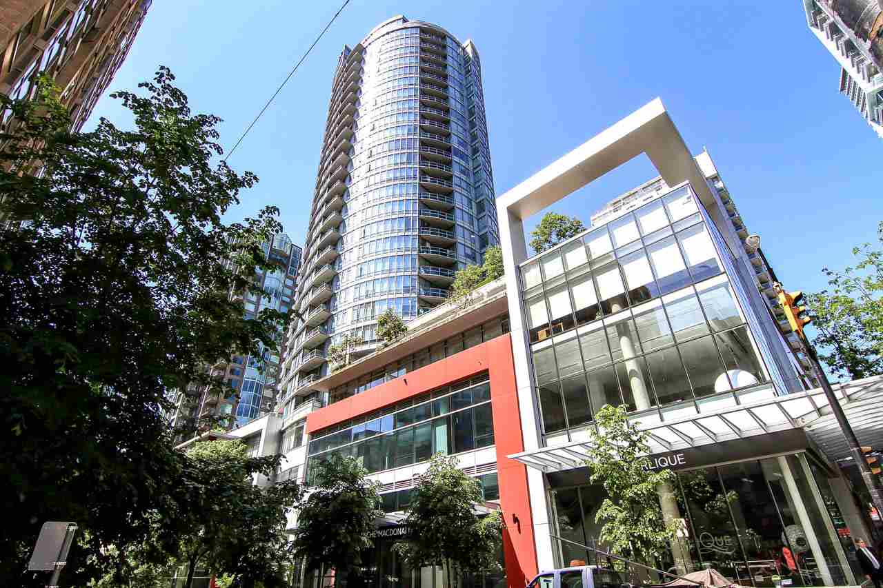 "Main Photo: 1907 833 HOMER Street in Vancouver: Downtown VW Condo for sale in ""ATELIER"" (Vancouver West)  : MLS® # R2067914"