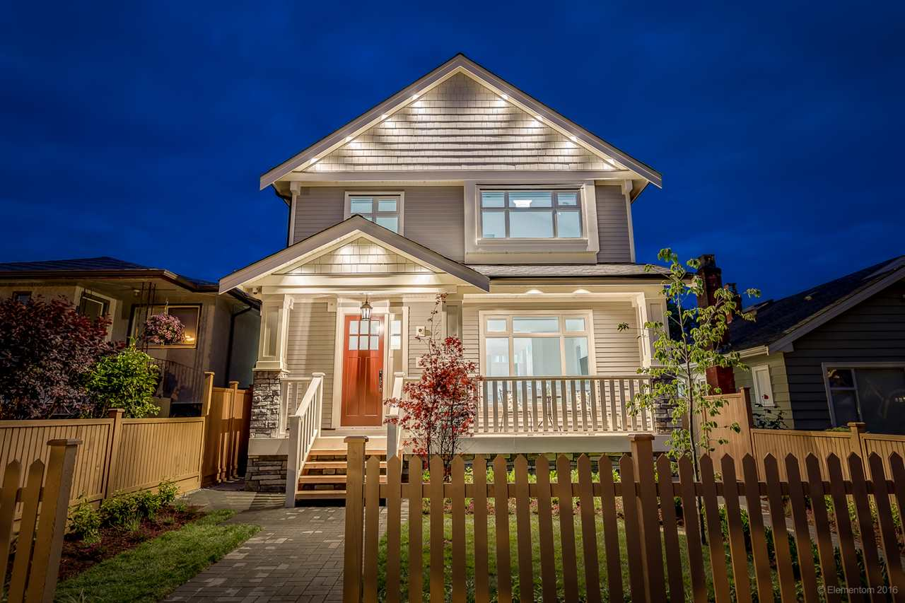 Main Photo: 1308 E 27 Avenue in Vancouver: Knight House 1/2 Duplex for sale (Vancouver East)  : MLS® # R2088304