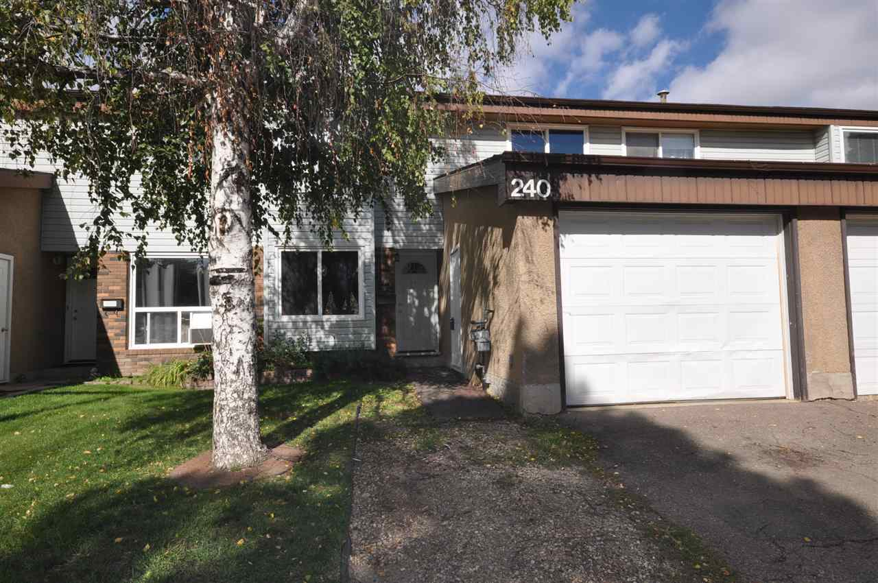Main Photo: 240 Grandin Village: St. Albert Townhouse for sale : MLS® # E4037349