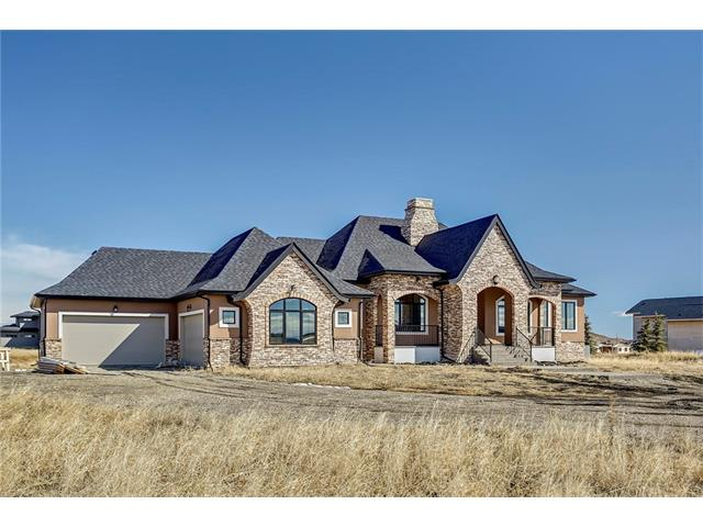Main Photo: 242208 WINDHORSE Way in Rural Rocky View County: Rural Rocky View MD House for sale : MLS® # C4105562