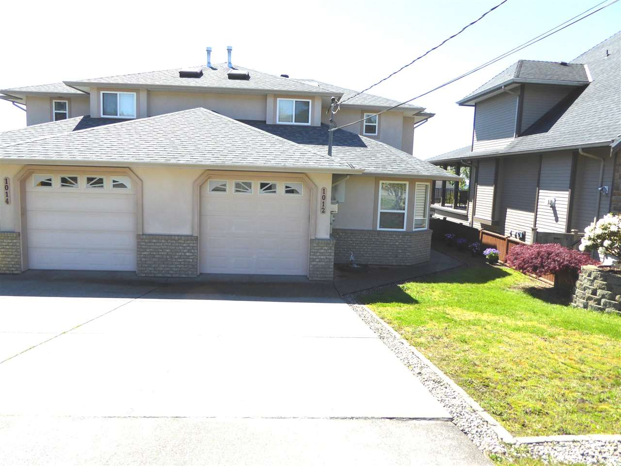 Main Photo: 1012 WALLS Avenue in Coquitlam: Maillardville House 1/2 Duplex for sale : MLS® # R2162423
