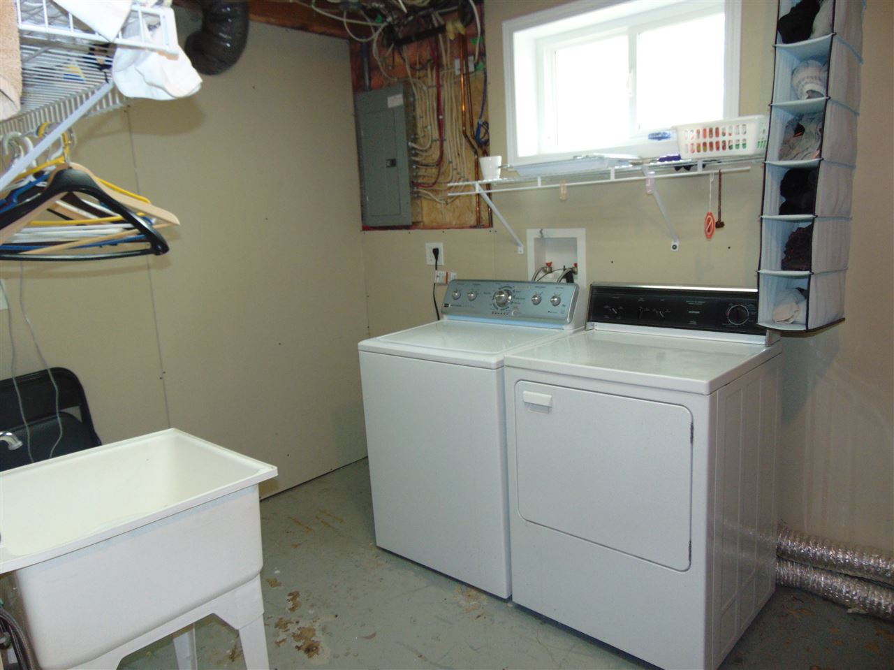 laundry area with sink!!!
