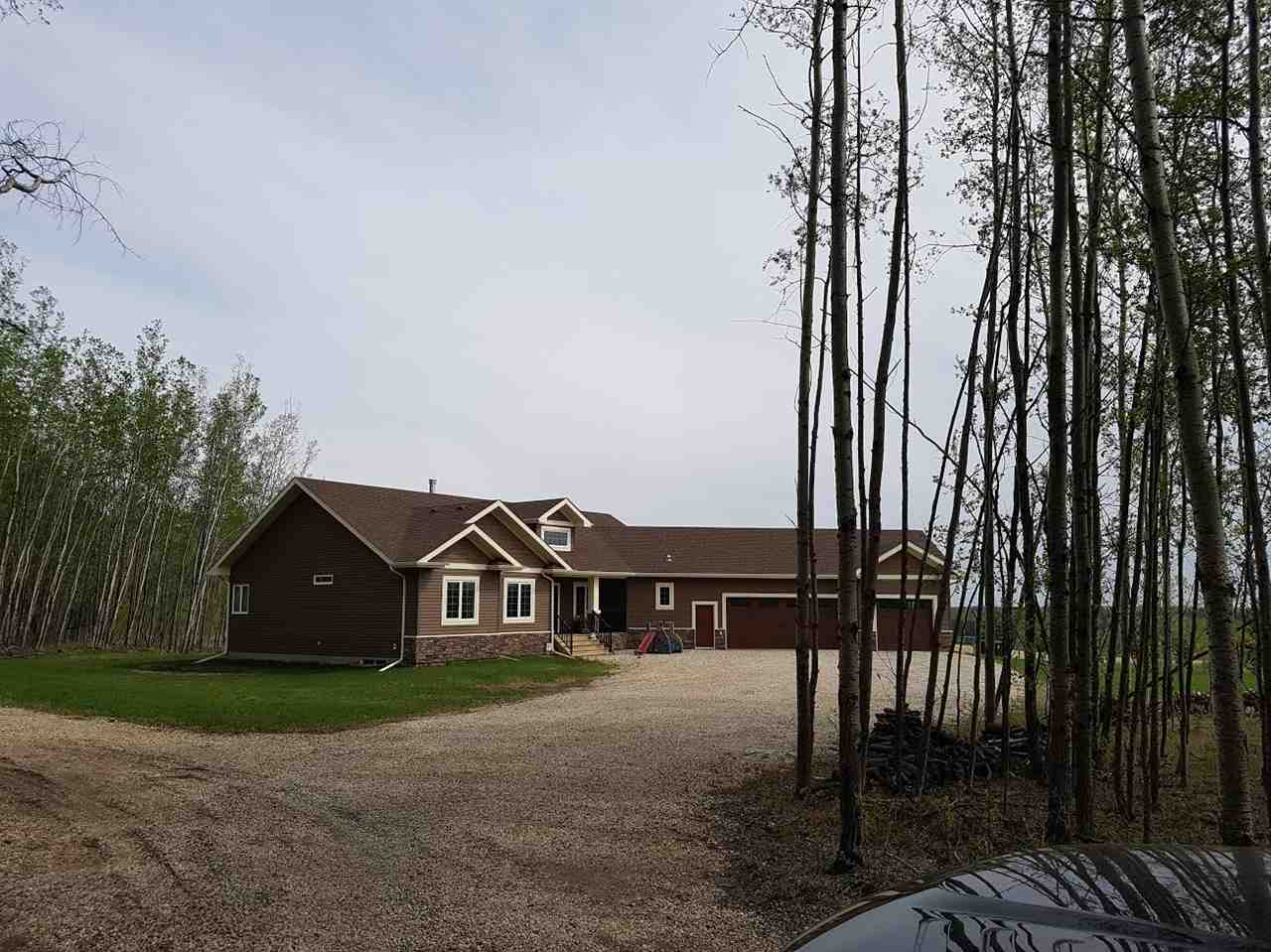 Main Photo: 31 1319 TWP RD 510 Road: Rural Parkland County House for sale : MLS(r) # E4064663