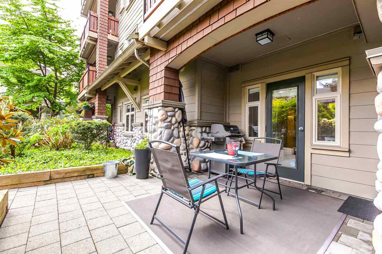 "Photo 17: 109 18 SMOKEY SMITH Place in New Westminster: GlenBrooke North Condo for sale in ""THE CROFTON"" : MLS(r) # R2169759"