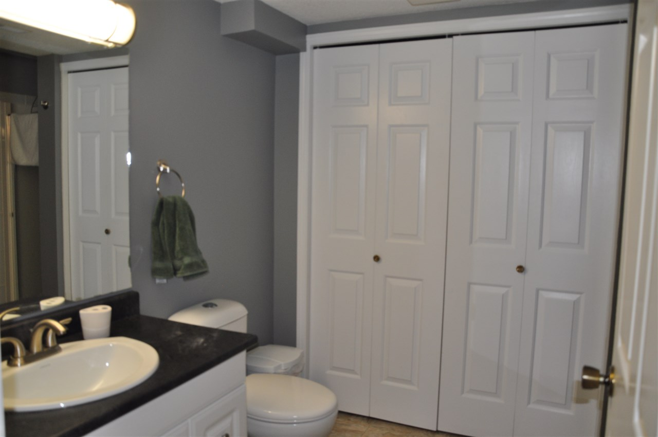 lower level 3 piece bathroom - laundry behind closet doors